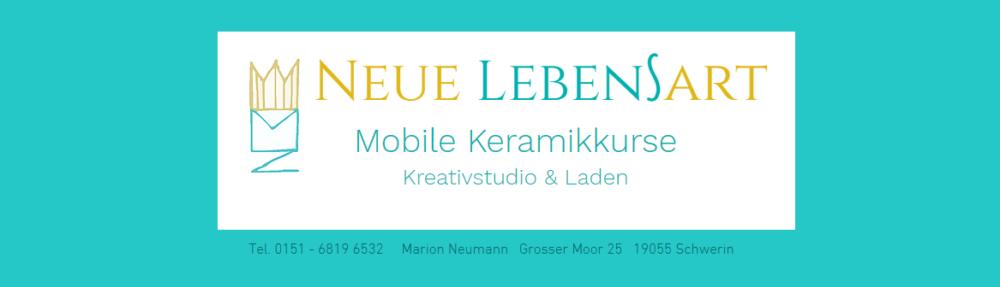 Neue Lebensart, Marion Neumann, mobile Keramikkurse